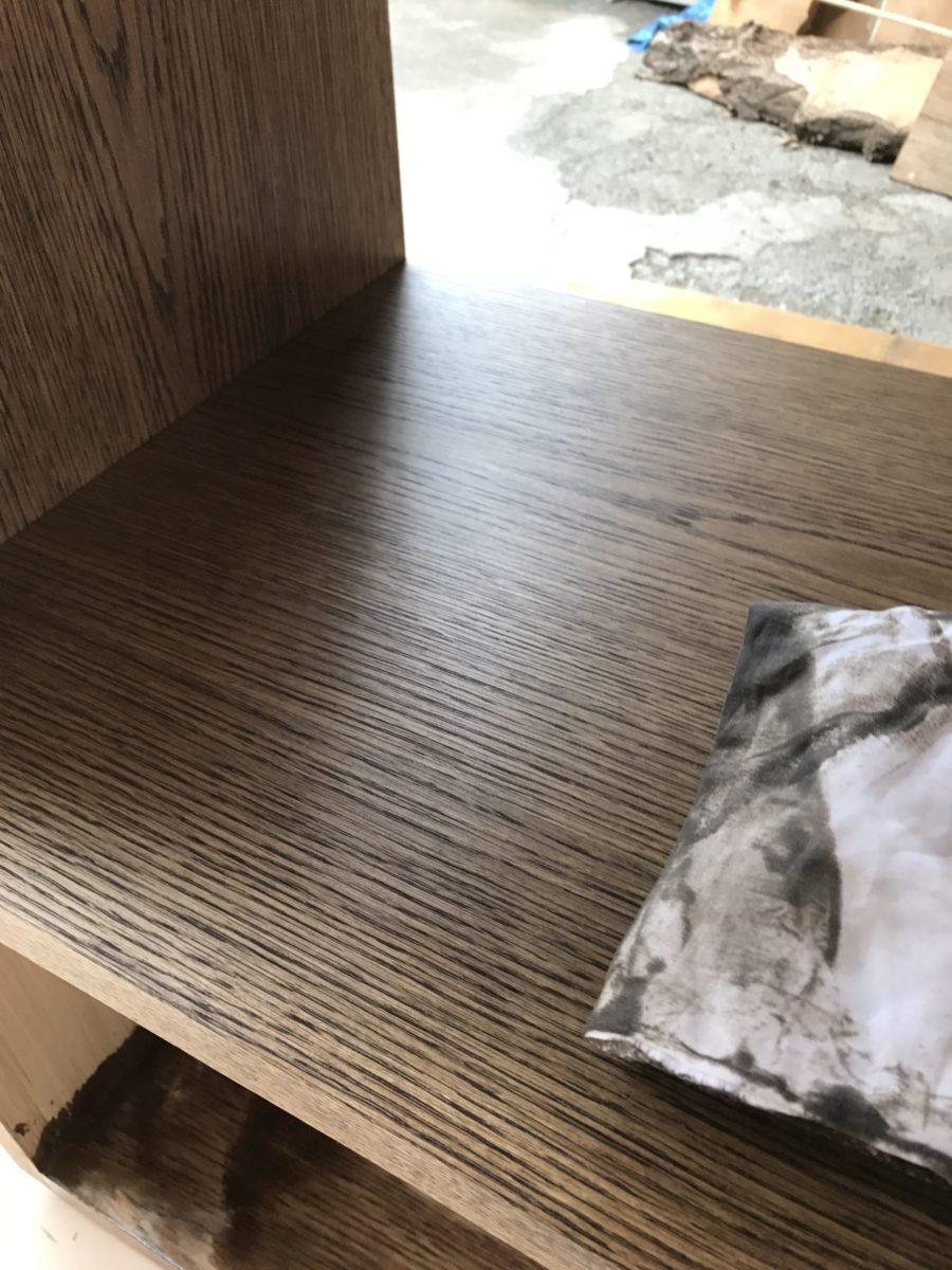 オイル塗装 工程2